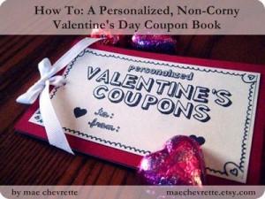 Personalized, Non-Corny Valentine's Day Coupon Book