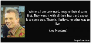 More Joe Montana Quotes