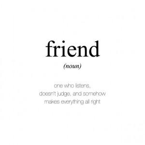 Definition of friend