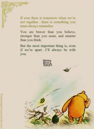 Winnie The Pooh Quotes Stronger Than You Think