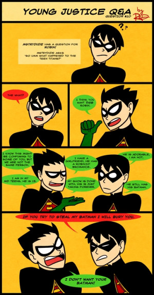 Young Justice MORE FUNNY PICS!