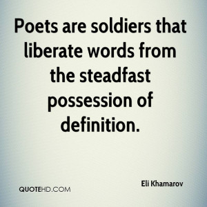 Eli Khamarov Poetry Quotes
