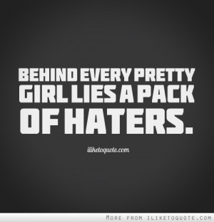 Tumblr Quotes For Girls About Haters