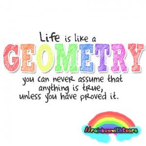 funny geometry sayings
