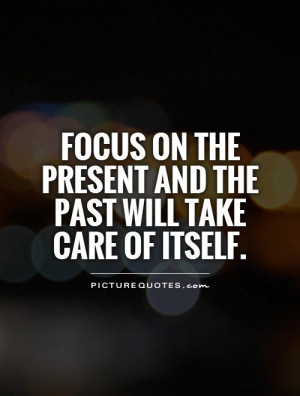Focus Quotes and Sayings