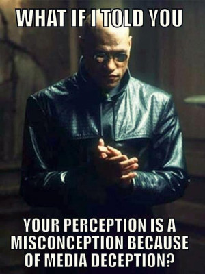 What if I told you your perception is a misconception because of media ...