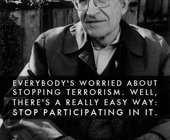 Noam Chomsky On The Turkish Protests