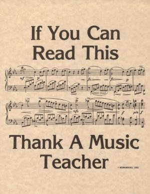 Thank your music teacher if you understand the language! #teacher # ...