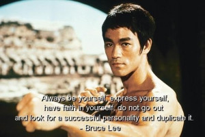 Bruce lee quotes sayings quote faith success be yourself