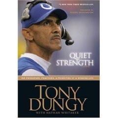 Tony Dungy's 'Quiet Strength' crosses million copy mark