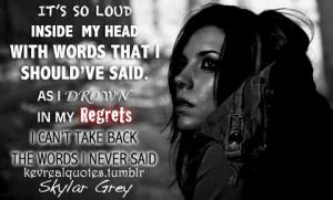 Skylar Grey Quotes
