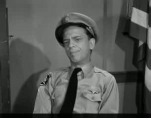 Barney Fife Quotes and Sound Clips