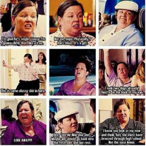 Best character in a movie - bridesmaids