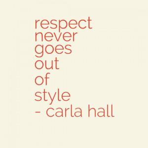 quotes carla s words of wisdom 12 september 2013 matthew carla hall ...
