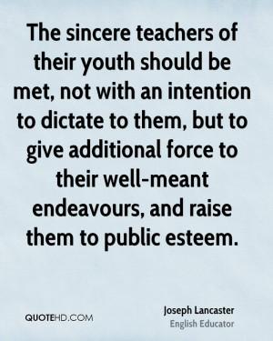 Joseph Lancaster Quotes
