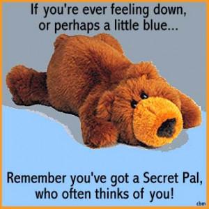 secret pal cards