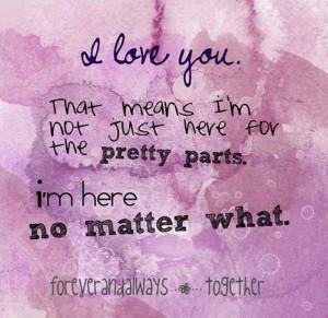 Love You True Love Quote
