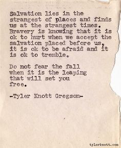Tyler Knott Gregson just-because-quotes
