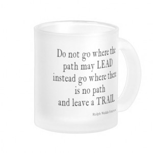 Vintage Emerson Inspirational Leadership Quote Coffee Mug