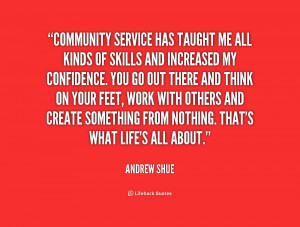Community Service Quotes Preview quote