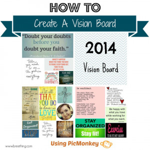 Creating a vision Board - Imperfect Vessel