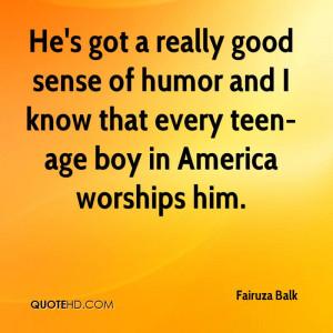 Good Sense of Humor Quotes