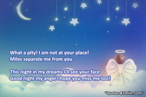 Go Back > Gallery For > Goodnight My Angel Quotes