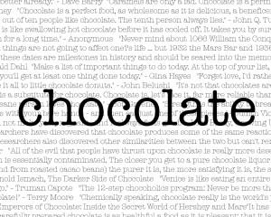chocolate white chocolate