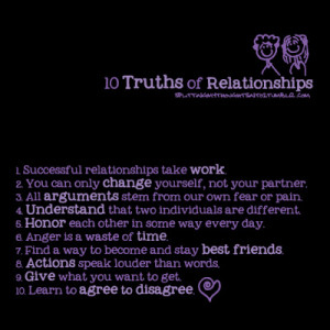 truths about relationships quotes