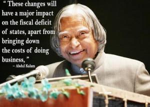 Quote - Dr. APJ Abdul Kalam