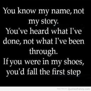 life judgement past true Quotes