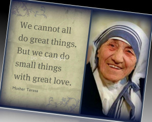 Mother Teresa Quotes Quotations...