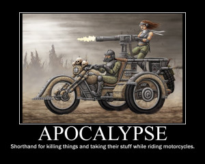 Apocalypse (now with bikers!)