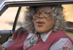 ... she joins Tyler Perry's Madea in hilarious new promo for revamped OWN