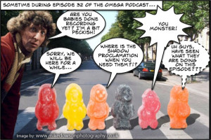 Doctor Who Jelly Babies