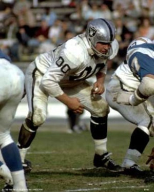 Jim Otto exemplified Raider football like non other.