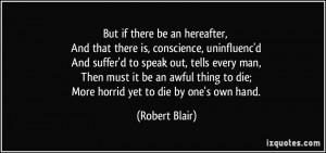 thing to die More horrid yet to die by one 39 s own hand Robert Blair