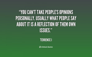 people s opinion