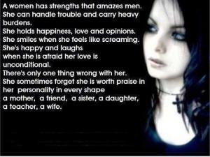 Strong women..