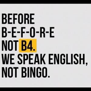 Funny Language Quotes