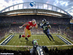 Funny Seattle Seahawks vs the San Francisco 49ers