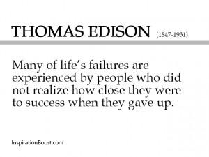 thomas edison failure quotes quotes success quotes quotes about ...