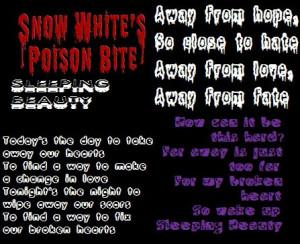 Sleeping Beauty - Snow White's Poison Bite