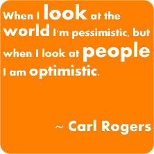 Carl Rogers makes sense to me. He is credited with the idea of empathy ...