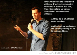 adam lash nascar drivers crash burn quote funny pics pictures pic ...