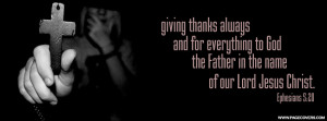 Christian Quotes About Giving Thanks