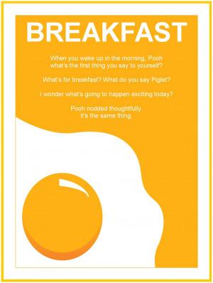 Breakfast Quote