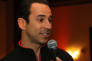 helio castroneves at indy 500
