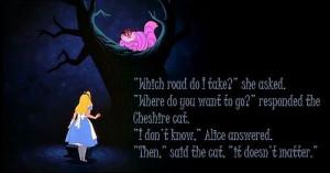 Cat Quotes Alice in Wonderland