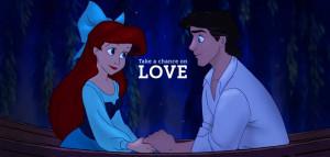 disney the little mermaid the little mermaid love